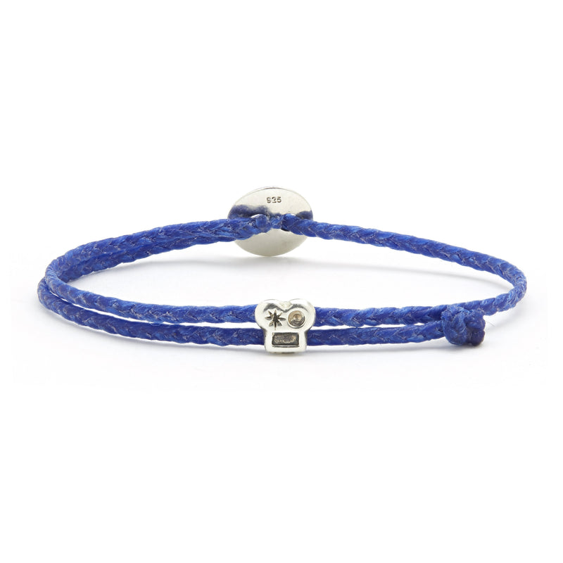 Adjustable Brian Signature Bracelet in Royal Blue