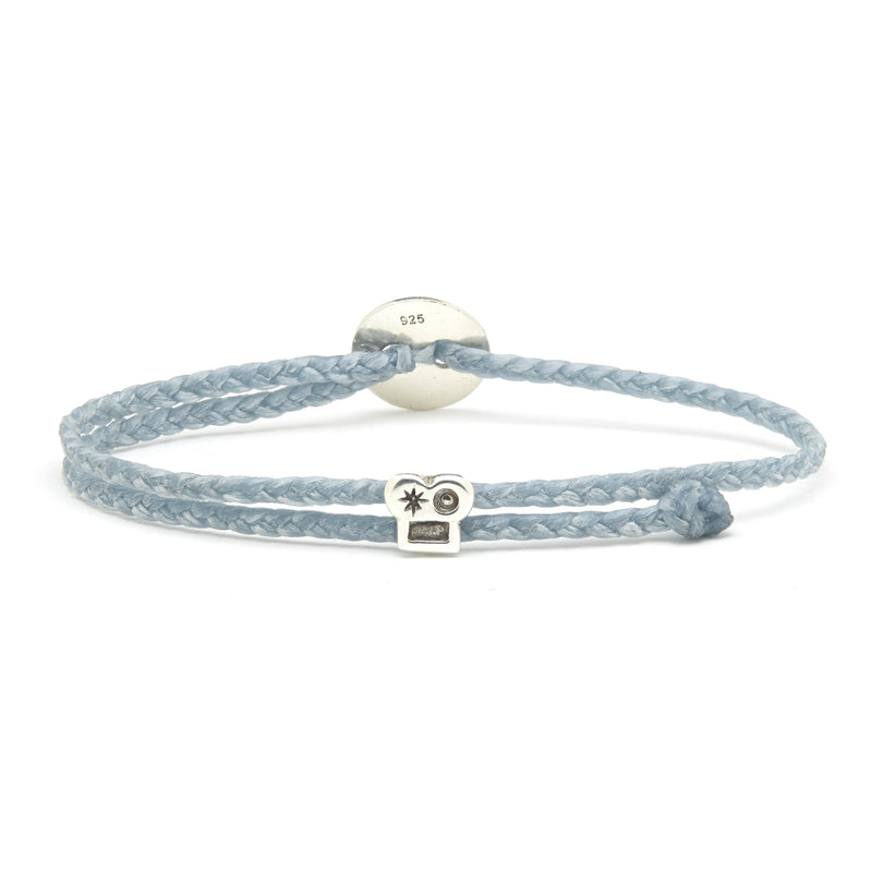 Adjustable Brian Signature Bracelet in Aquaspray