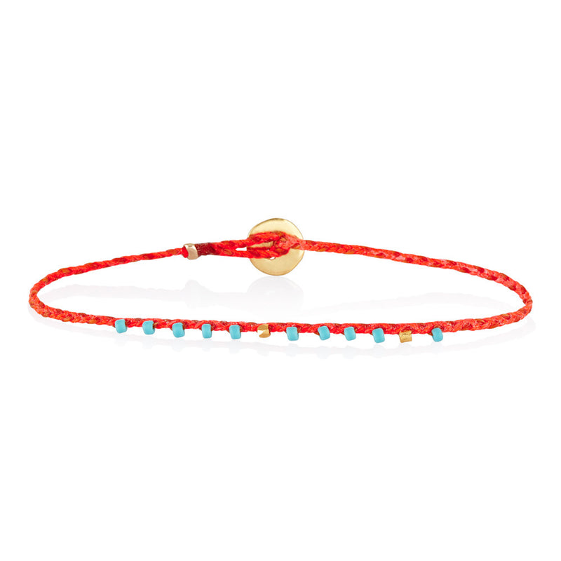 Easygoing Bracelet in Neon Pink/Orange
