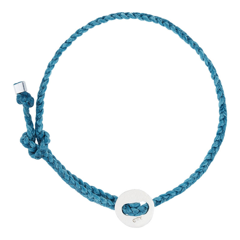 (4mm) Turquoise Signature Bracelet in Silver