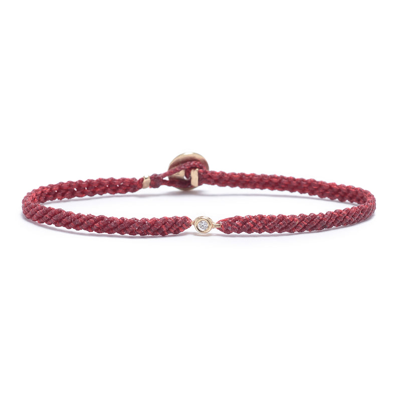 Classic Diamond Bracelet in Cherry Blossom