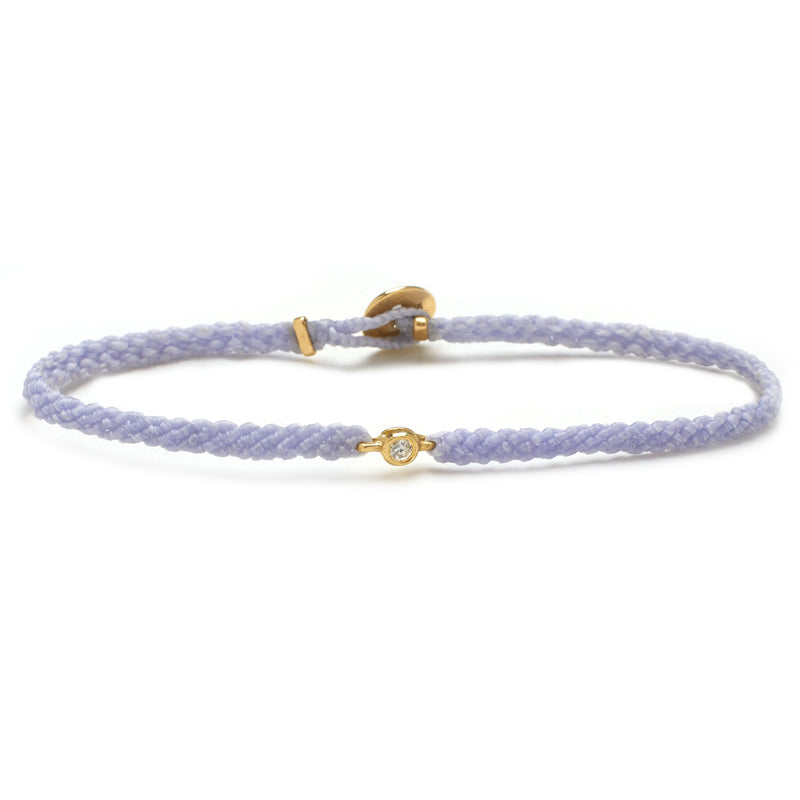 Classic Diamond Bracelet in Lavender