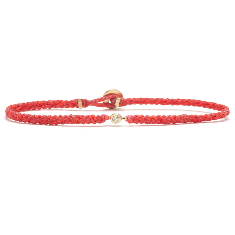 Classic Diamond Bracelet in Hot and Neon Pink