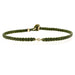 Classic Diamond Bracelet in Olive