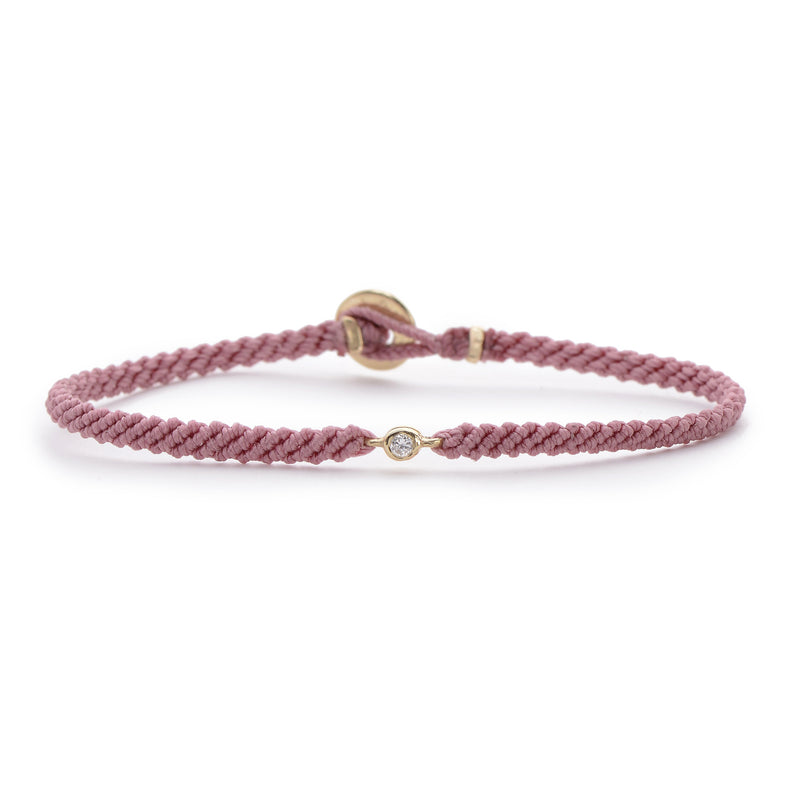 Classic Diamond Bracelet in Rose