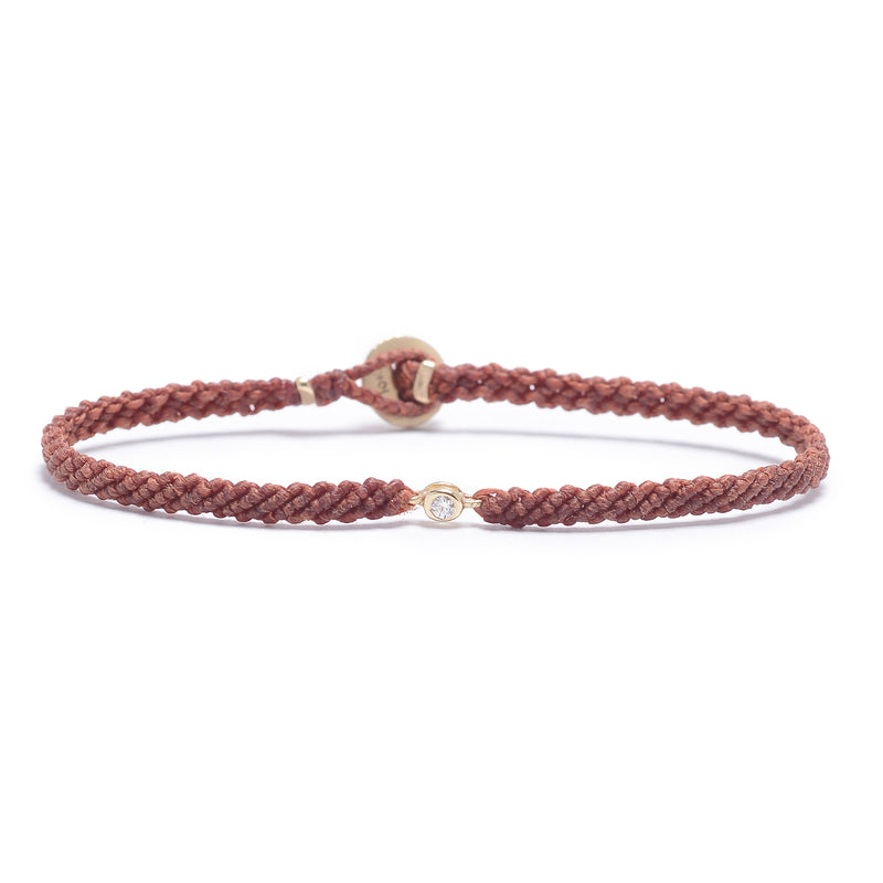 Classic Diamond Bracelet in Rust