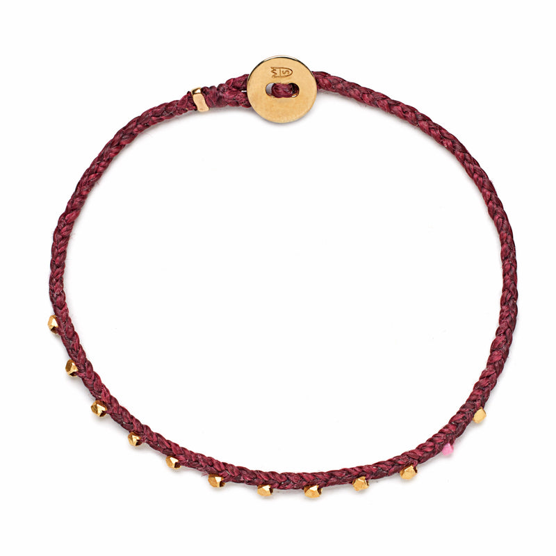 Easygoing Bracelet in Plum