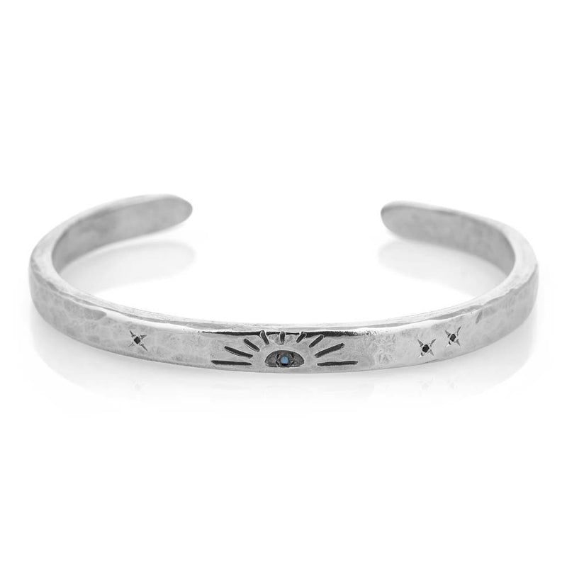 Sunrays Cuff in Silver