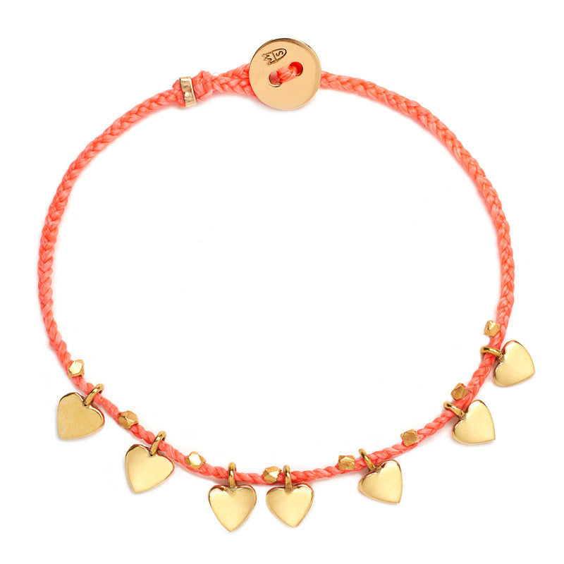 Everyday Love Bracelet in Salmon