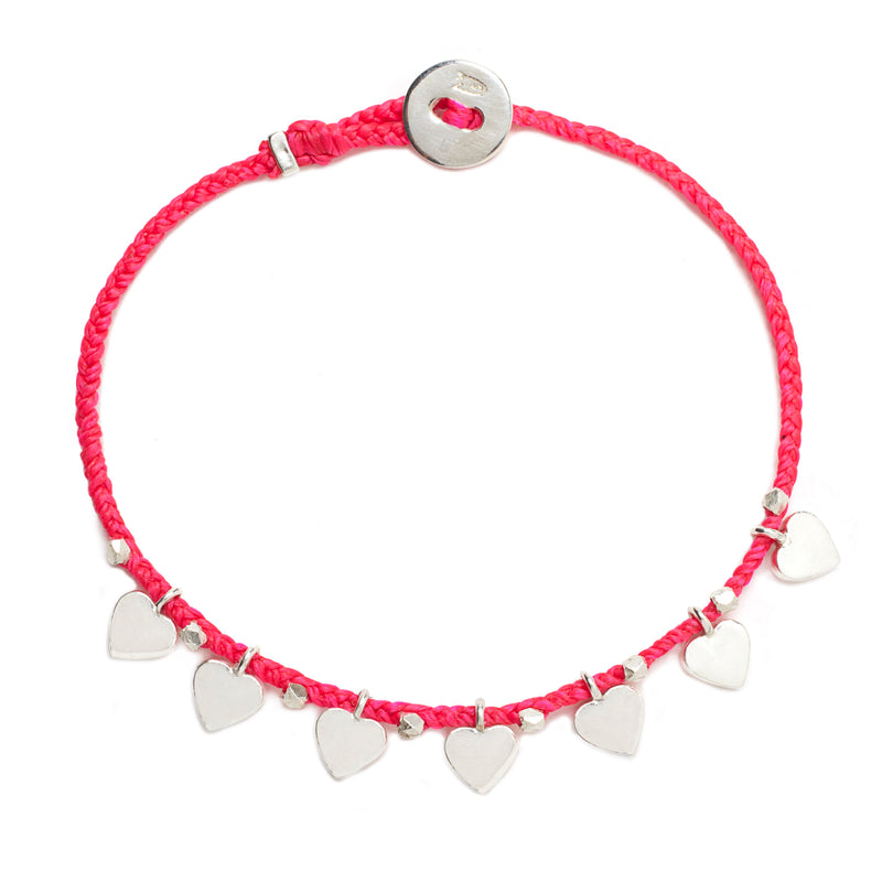 Everyday Love Bracelet in Fuchsia