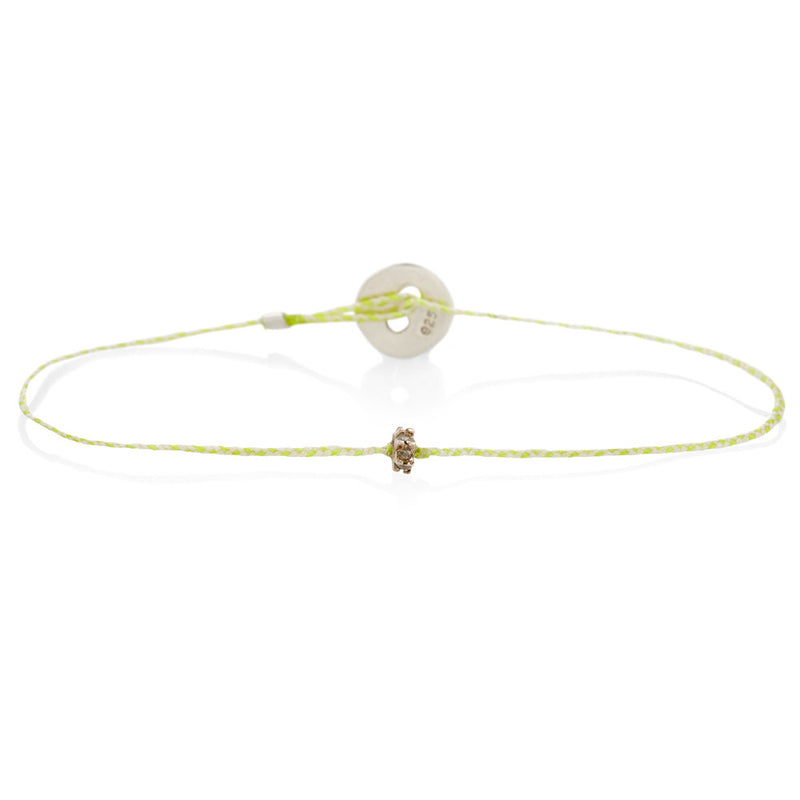 Roda Bracelet in Neon Yellow