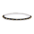FAIRY BREAD BANGLE IN BLACK
