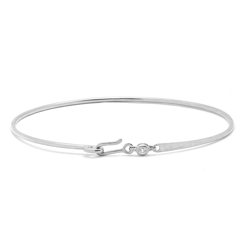 Diamond Bezel Bangle