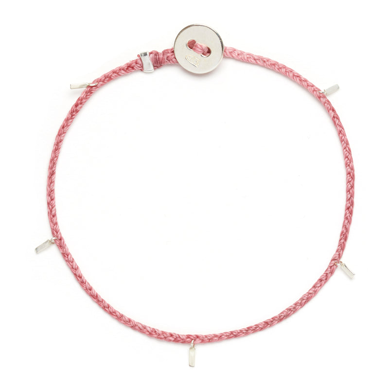 Fairy Tinsel Signature Bracelet in Rose