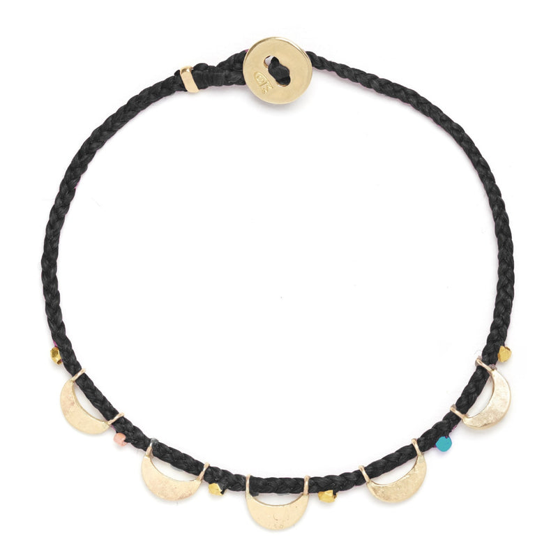 Luna Caravan Bracelet in Black