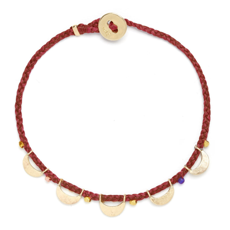 Luna Caravan Bracelet in Red