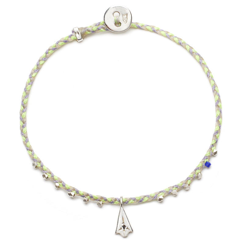 Easygoing Lotus Charm Bracelet in Riviera Blend