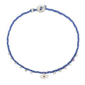 Easygoing Eye Charm Bracelet in Royal and Sky Blue