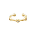 Trio Ear Cuff in Gold