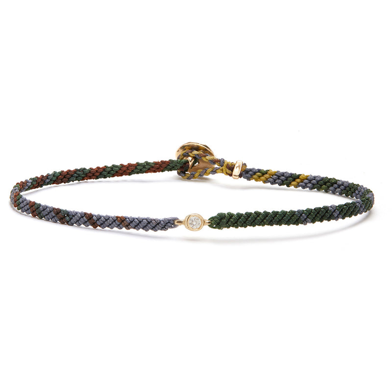 Classic Diamond Bracelet in Flyline