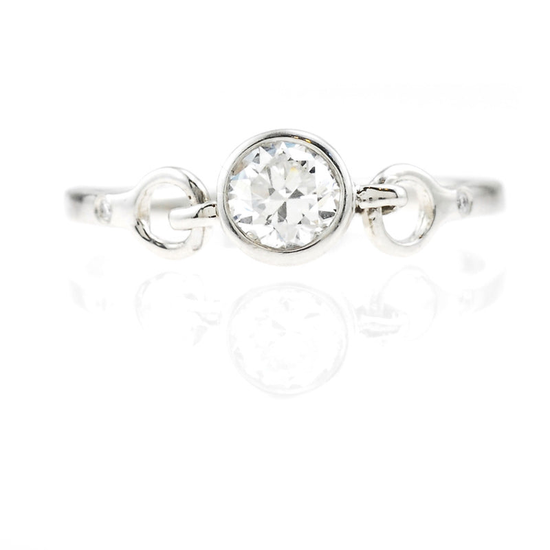 Linked Diamonds Ring
