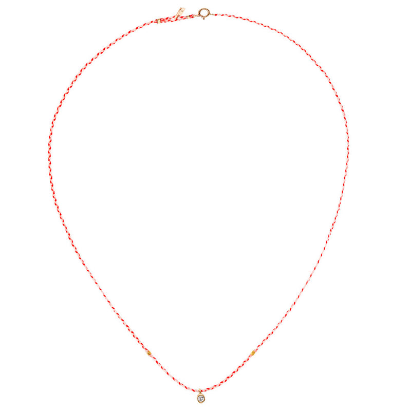Carnival Necklace in Gold with Diamond