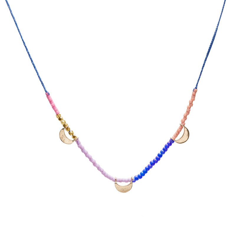 Luna Trinket Necklace in Gold