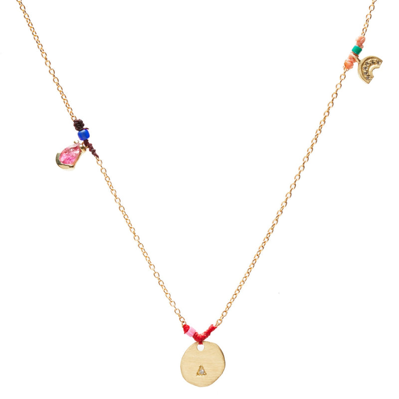 Patchwork Charms Necklace