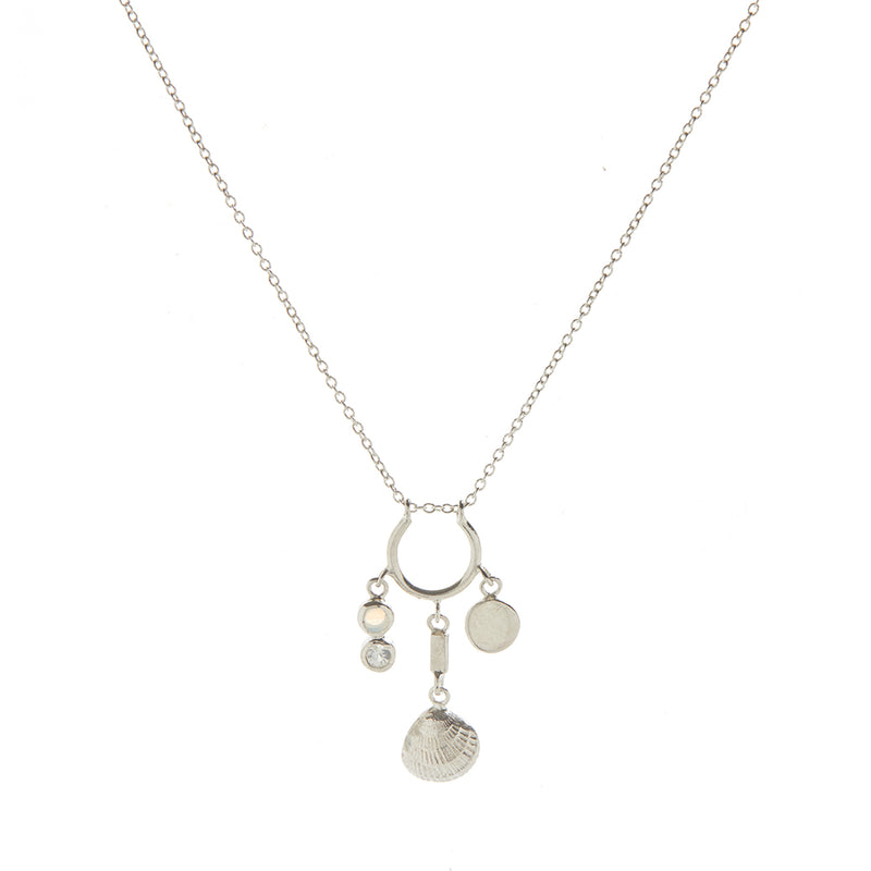 Ocean Treasure Necklace in Silver
