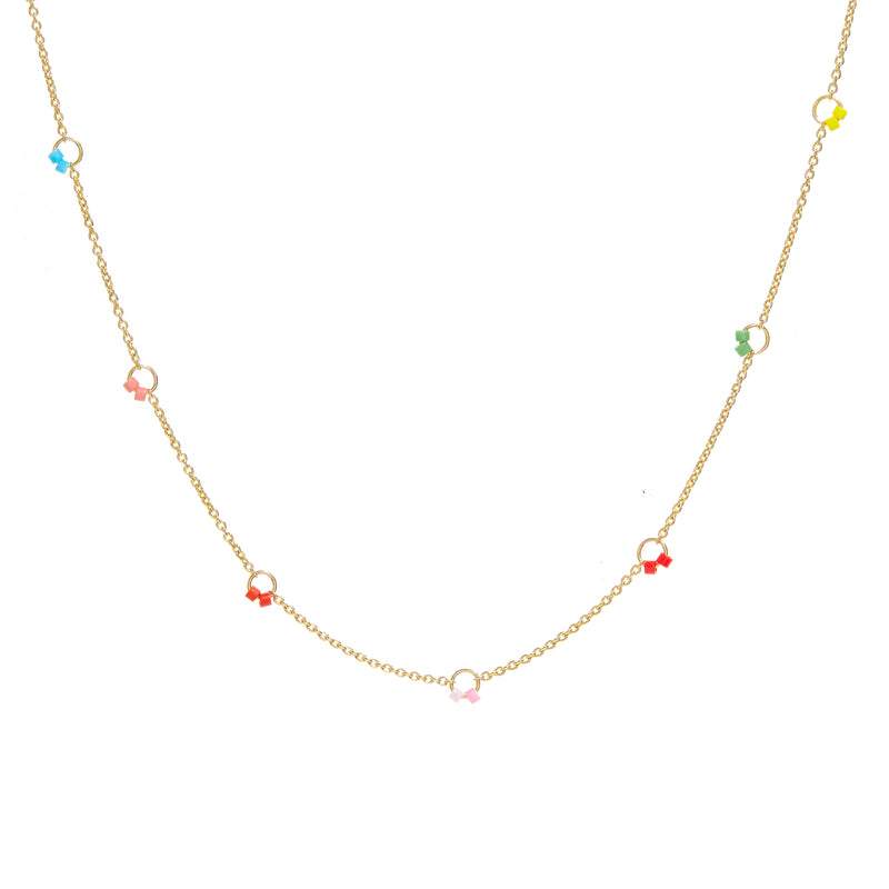 Cha-Cha Necklace in Multicolor