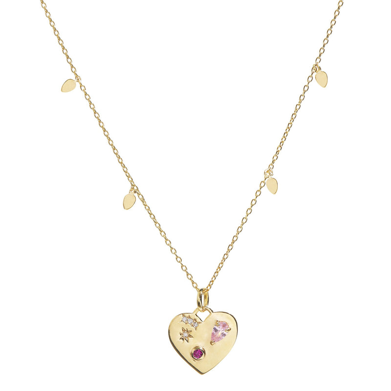 Night Market Heart Necklace