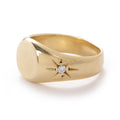 Pinky Signet Ring in Gold