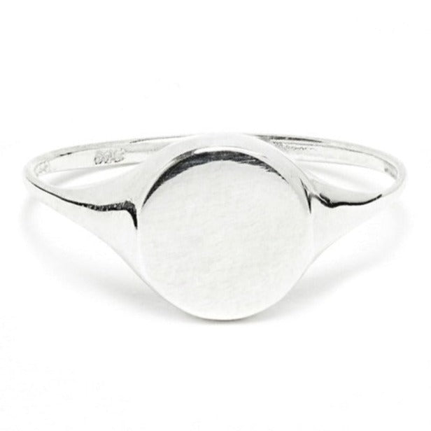 Perfect Signet Ring in Silver