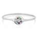Lolli Ring in Silver with Mixed Stones