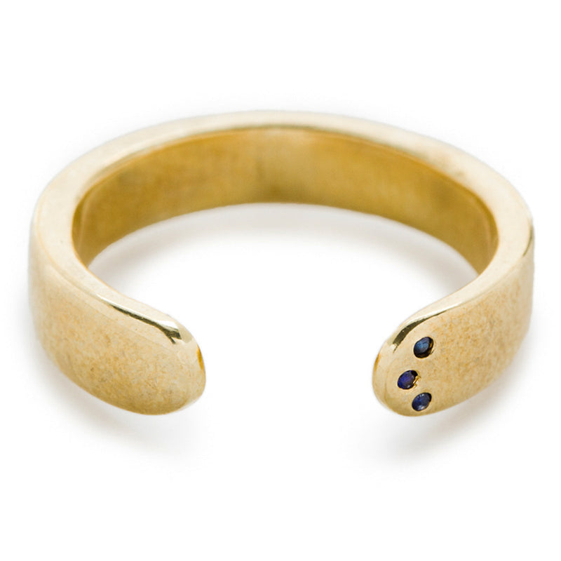 DIGNITY RING IN BRASS, ORG $125