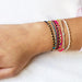 Easygoing Bracelet in Indigo & Light Pink