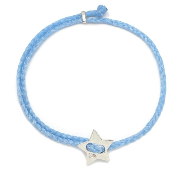 Signature 4mm Bracelet, Silver Star in Sky