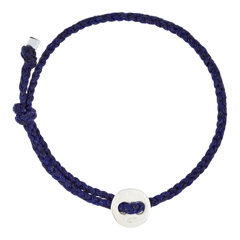 (4mm) Indigo Signature Bracelet in Silver