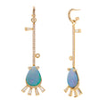 Ariel-1 Opal Drop Earrings