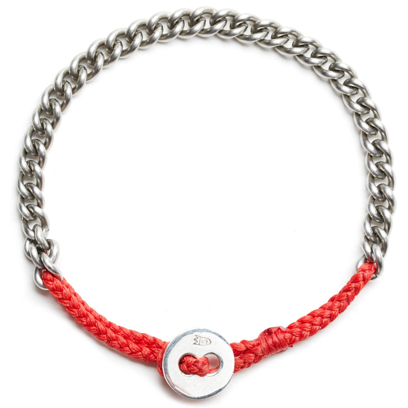 Chain Bracelet in Scarlet