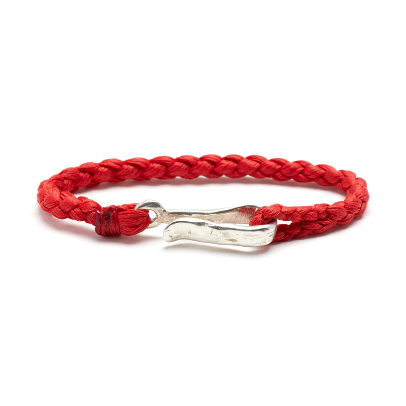 Rope Braid with Hook in Scarlet