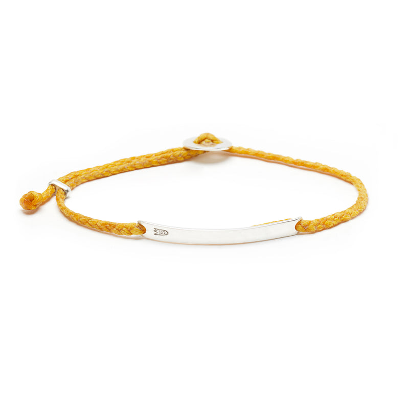 Signature ID Slider Bracelet in Mimosa