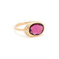 Alice Ring with Rhodolite