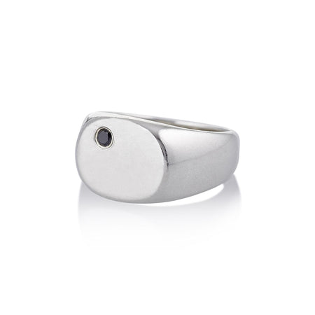 Seal Signet Ring in Silver
