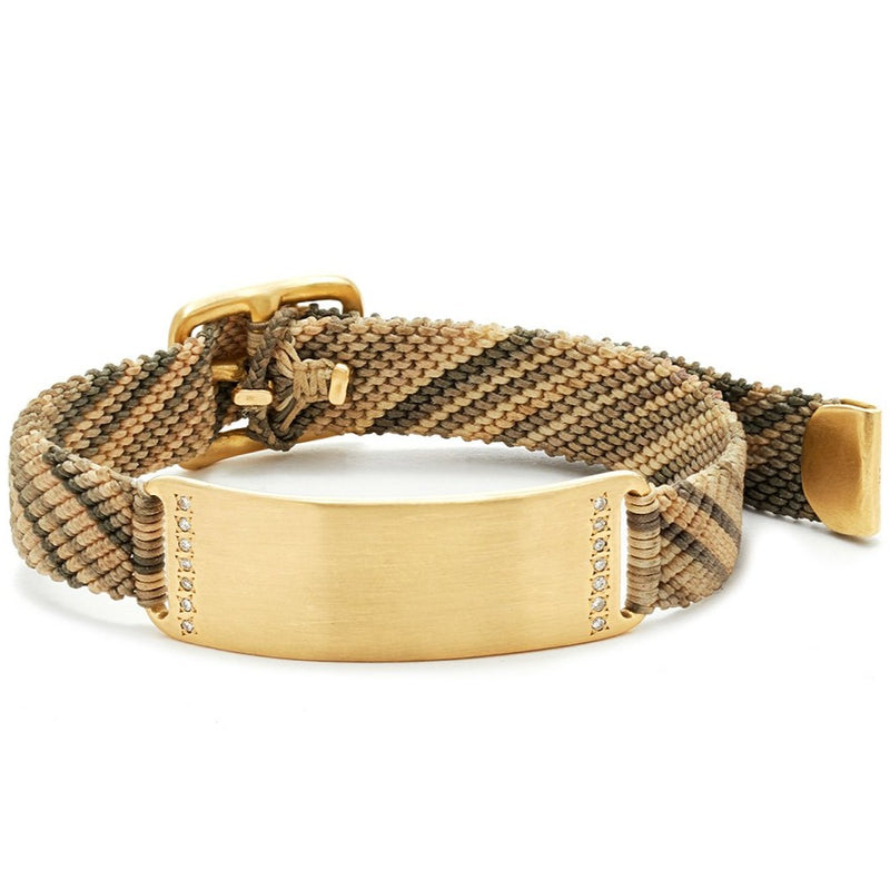 Diamond ID Belt Bracelet
