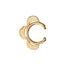 Luna Caravan Ear Cuff in Gold