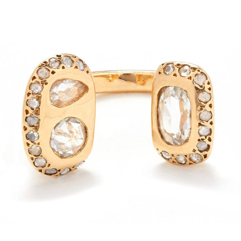 Lyda Ring with Diamonds
