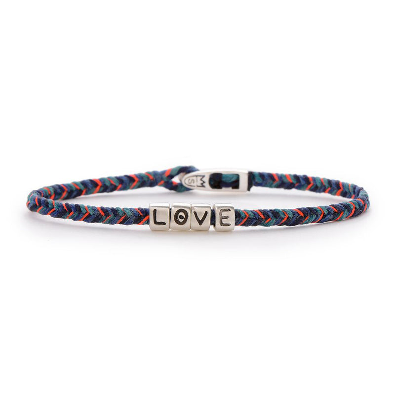 L O V E BEADS TOTEM BRACELET IN PARADISE AND SILVER