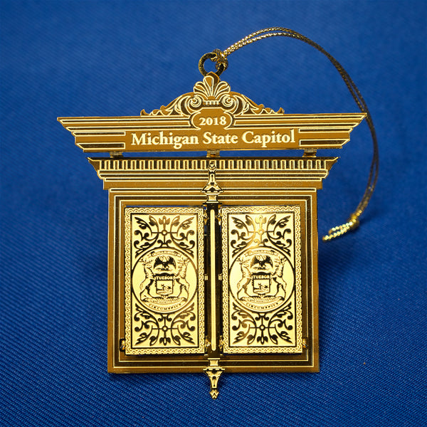 2018 Michigan Capitol Ornament