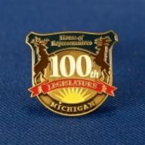 100th Legislature House of Representatives Pin